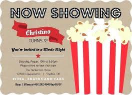 Movie Night Invitation Templates Movie Party Invitation Wording Movie Party Invitations Plus