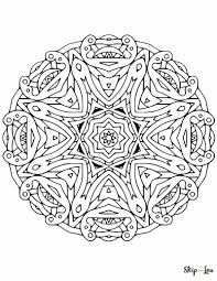 Coloring Pages Mandalas 43585 Octaviopazorg