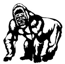 40 Dessins De Coloriage Gorille Imprimer