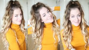 Half Ponytail Hairstyles Ariana Grande Inspired Half Up Half Down Ponytail Hairstyle