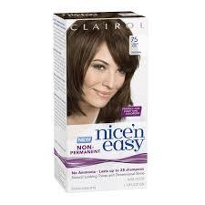 Nice N Easy Light Ash Brown Non Permanent Clairol Nice N Easy Non Permanent Hair Color 75 Light Ash