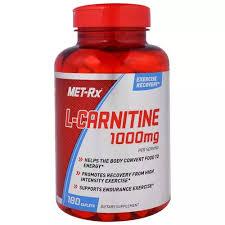 MET-Rx, <b>L</b>-<b>Carnitine</b>, <b>1000 mg</b>, <b>180</b> Caplets