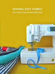 How To Sew Stretch Fabric With A Normal Sewing Machine