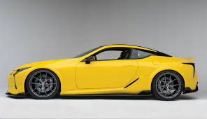 2018 lexus for sale. simple sale customized lexus lc 500 with gloss yellow wrap for 2018 lexus for sale