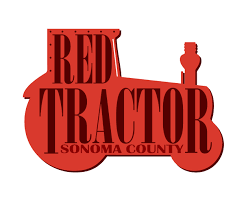 Sonoma County Graphic Design Logo Design For Sonoma County Red Tractor By Rdelange