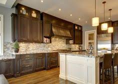 Small Picture Kitchen Counter tops with dark wood cabinets Kitchen Pinterest