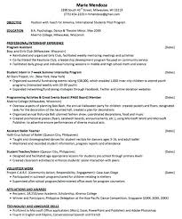 American Resume Inspiration American Format Resume Best Resume Template Whizzme