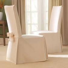 add elegant style to your dining room with this clic slipcover featuring a wide range of colors these covers are oversized to fit chairs up to 19