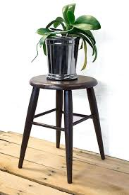 rustic plant stand small wooden stool reclaimed wood plant stand indoor plant stand rustic plant holder rustic plant stand