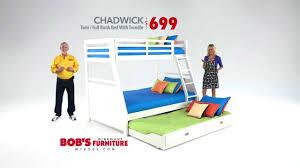 Bedding Chadwick Twin Full Bunk Bed Bob s Discount Furniture