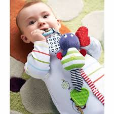Bed <b>Plush Toy</b> Educational <b>Infant</b> Rattles <b>Plush Animal Stroller Baby</b> ...