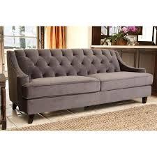 grey velvet tufted sofa. Perfect Velvet Intended Grey Velvet Tufted Sofa