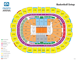 Pittsburgh Ppg Arena Seating Chart Harlem Globetrotters Ppg Paints Arena