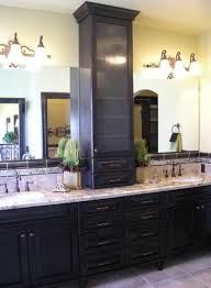 bathroom vanities with storage towers wasatch parade traditional bathroom salt lake city azure