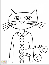 Pete The Cat Coloring Bl5t Pete The Cat Coloring Page With Free