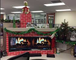 decorating office for christmas. 9 cubicle dwellers with serious christmas spirit decorating office for