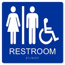 restroom signs. Wonderful Restroom ADA ACCESSIBLE UNISEX RESTROOM SIGN  8X8 And Restroom Signs