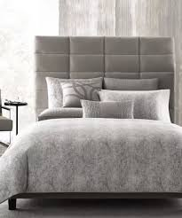 hotel collection eclipse heather gray cotton king duvet comforter cover 420