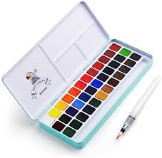 MeiLiang Watercolor Paint Set, 36 Vivid Colors in ... - Amazon.com