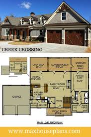 Best Exterior Pictures Of Homes Images On Pinterest - House with basement plans