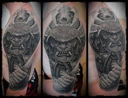 мужская татуировка самурая на плече фото рисунки эскизы