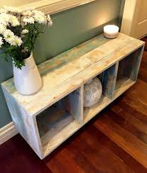 pallet furniture. diy pallet crate style storage and display unit furniture