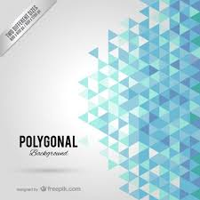 free vectors by freepik fond polygonal bleu