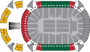 Xcel Energy Concert Seating Chart Xcel Energy Center Seat Viewer