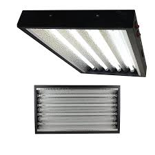 Commercial T5 Light Fixtures Apollo Horticulture T5 2 Feet 4 Tube Commercial Fixture