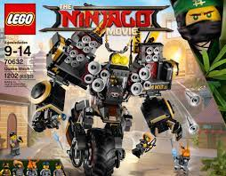 LEGO The Ninjago Movie Quake Mech Set 70632 Cole Misako Crusher Fred Finley  New LEGO Complete Sets & Packs maisonconsulting Toys & Hobbies