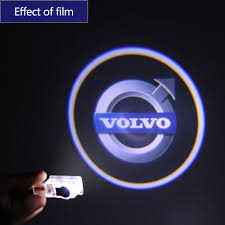 2x For VOLVO Car LED Door Projector Courtesy Puddle Shadow Laser ...