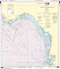 Noaa Nautical Chart 1114a Tampa Bay To Cape San Blas Oil And Gas Leasing Areas