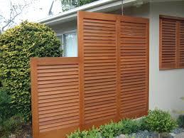 wooden screens outdoor designs