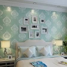 Teal Bedroom Wallpaper Popular Bedroom Wallpaper Blue Buy Cheap Bedroom Wallpaper Blue