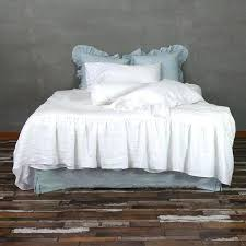 ruffled duvet cover skirt ruffle duvet cover 1 light grey ruffle duvet cover