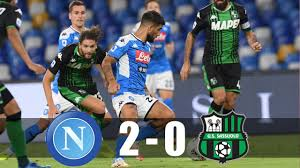 Napoli vs Sassuolo 2-0 Highlights & Goals Resumen & Goles 2O2O - YouTube
