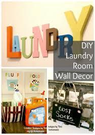 diy wall decor for laundry room