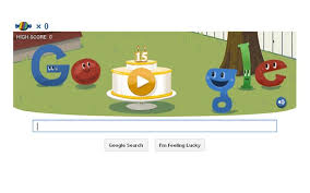 play google doodle games. Simple Google Google Birthday Doodle To Celebrate 15 Years And Play Doodle Games E