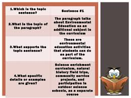 Identifying Topics Main Ideas And Supporting Details