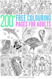 Color the pictures online or print them to color them with your paints or crayons. 200 Gorgeous Free Colouring Pages For Adults Crafts On Sea