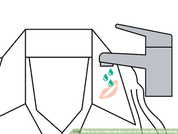 image led get a makeup stain out of clothes without washing step 3