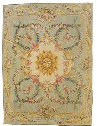 French Design Rugs A Louis Xvi Style Aubusson Carpet France Tapestry