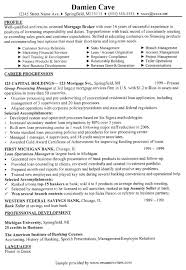 Mortgage Loan Officer Resume Templates Mortgage Loan Officer Resume