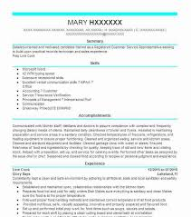 Line Cook Resume Objectives Resume Sample Livecareer