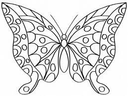 Elegante Bella Farfalla Disegno Da Colorare Disegni Da Colorare E