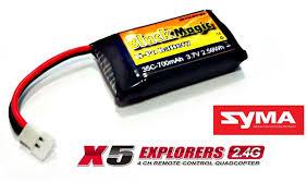 <b>Аккумулятор Black Magic</b> LiPo <b>Battery 3.7V</b> 700mAh 35C Syma X5 ...