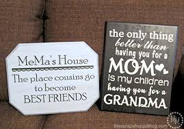 diy a cute sign for grandma for mother s day or great gift idea