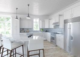 southport white shaker kitchen cabinets