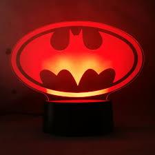 Cool New Batman Symbol Marvel 3d Light Night 7 Colors Change