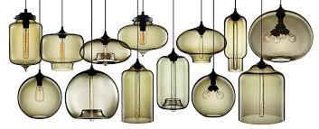 modern glass lighting. Niche Modern Blown Glass Pendant Lights Lighting S